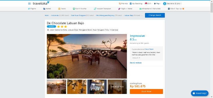 hotel traveloka