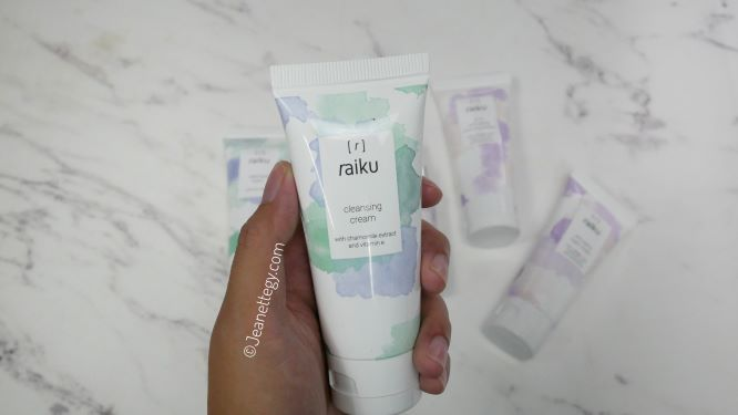 cleansing cream raiku