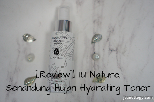 [Review] IU Nature, Senandung Hujan Hydrating Toner